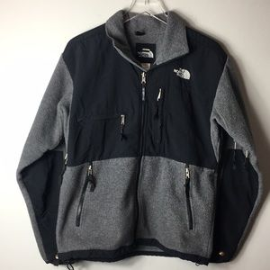 The North Face Men's Jacket Black Grey Sz Small